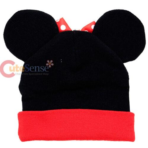 Disney Minnie Mouse Bonnet Brassard avec 3D Oreille Costume Couvercle Teen-Adult