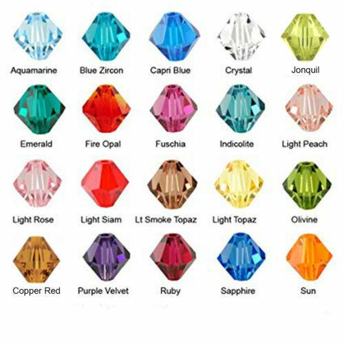 10 Swarovski® Kristall Perlen Xilion Beads 6mm OLIVIN Art 5328