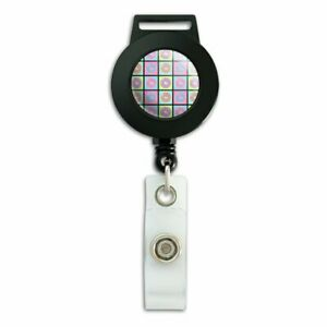 Retro-Cute-Yummy-Donuts-Pattern-Lanyard-Retractable-Reel-Badge-ID-Card-Holder