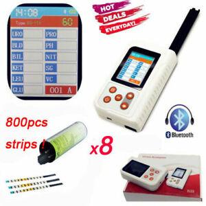 US-Seller-BC401-Handheld-Digital-Urine-Analyzer-with-800PCS-Test-Strips-2-4-034-LCD