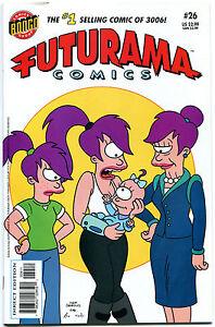 FUTURAMA-26-NM-Bongo-Fry-Bender-Leela-2000-Professor-Farnsworth-Zoidberg