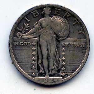 1924-p Standing liberty quarter (SEE PROMO)