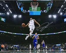 "Giannis Antetokounmpo Milwaukee Bucks Autographed 16"" x 20"" In Air Photograph"