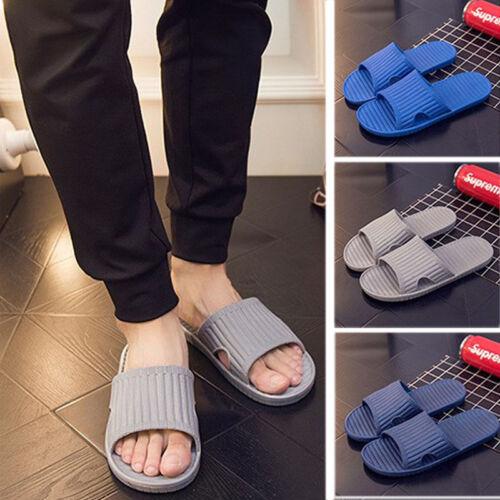 Men/'s Slip On Sport Slide Sandals Flip Flop Slippers House Antiskid Shower Shoes