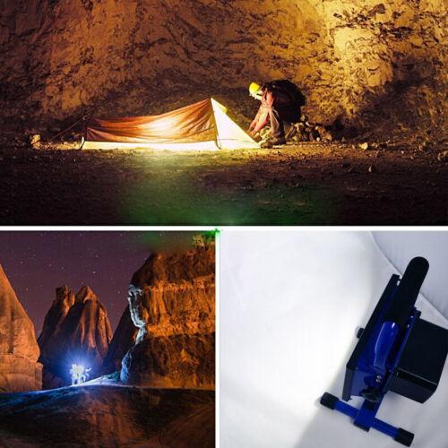 10W 20W 30W 50W 100W 150W LED Akku Fluter Handlampe Arbeitslampe Außenstrahler
