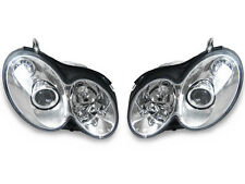DEPO 03-09 Mercedes-Benz CLK Class W209 CLK63 Style Chrome Housing Headlights