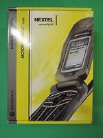 Motorola Buzz Nextel Ic502 - Black (sprint) Cellular Powersource Cell Phone