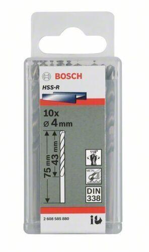 DIN 338 3.4 x 39 x 70 mm 2607018412 Bosch forets métal HSS-R