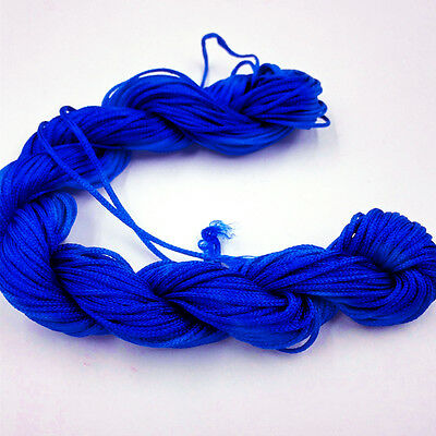 1Roll 1mm*26m Nylon Cord Thread Chinese Knot Macrame Bracelet Braid String Knit