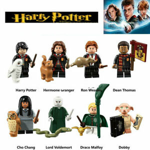 8-pcs-Harry-Potter-custom-Mini-figures-Voldemort-Hermoine-Dobby-Block-Lego-fit