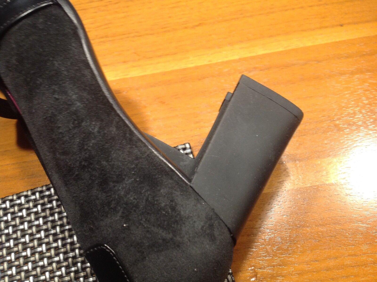 Bamar pums luxus aus italien neu vollleder vollleder vollleder 36,5 schwarz NP199 a93bca
