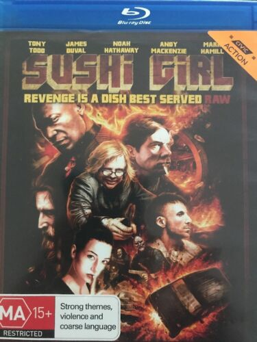 1 of 1 - Sushi Girl (Blu-ray, 2013) Revenge Is A Dish Best Served - Free Post!