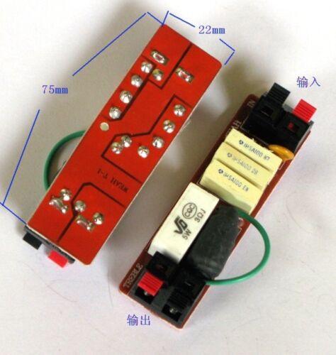 2pcs 80W 4~8Ω Car tweeter crossover Filters Treble Speaker Divider Audio parts