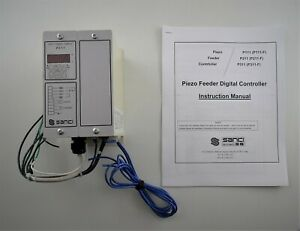 Sanki-P311-Piezo-Feeder-Digital-Controller-VVVF-Power-Supply-w-Manual-D