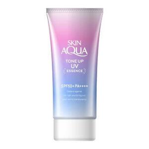 80g Japan import SKIN AQUA UV Tone-up UV Essence Sunscreen SPF50 PA+++
