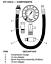 4 Piece Kit New Innova 3612 Compression Tester PSI Pressure Gauge Reader Hose
