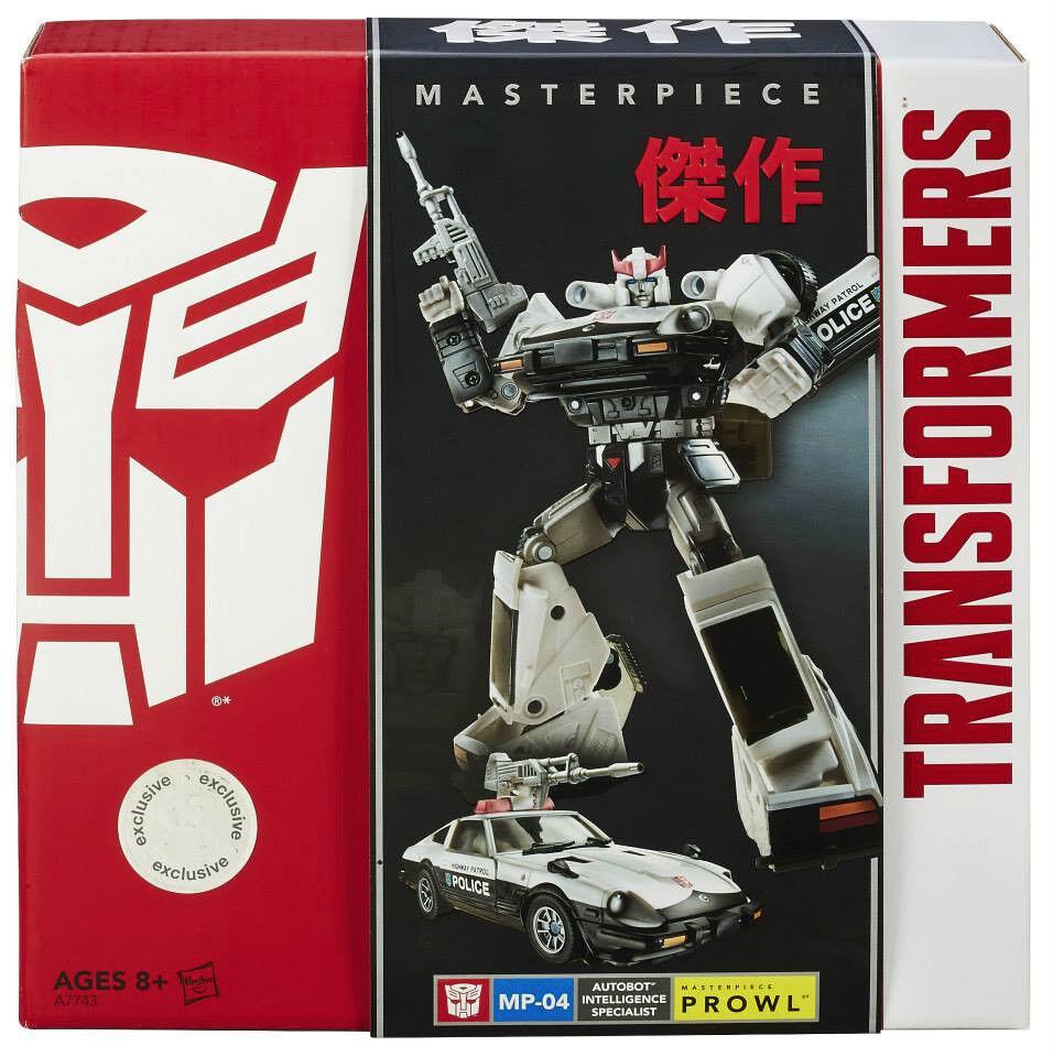 San Diego comic-con 2014 Transformers Masterpiece MP-04 Autobot Patrouille Hasbro TRU EXCLUSIVE