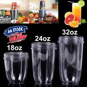 Juicer Cup Clear Mug Replacement For NutriBullet Bullet Juicer 18/24/32OZ