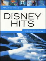 Really Easy Piano Disney Hits Sheet Music Book Frozen Wall-E Cinderella Mulan