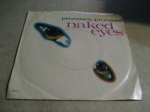 NAKED EYES~Promises, Promises~EMI America 8170 (New Wave) 45