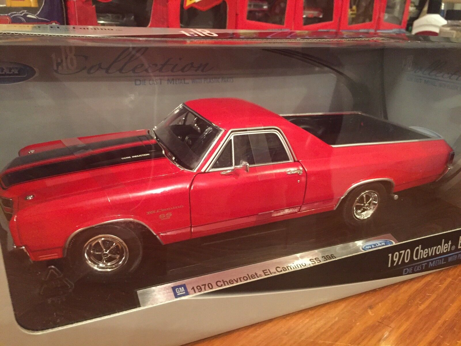 Welly 1 18 1970 El Camino SS396 Item 12543W
