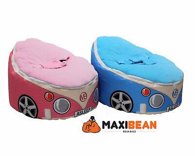 Baby Bean Bag Regolabile Harness Kids Bambino Sedia Auto Design Buttafuori Imbottiti, Beanie Babies-