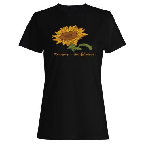 Kansas Sunflower Ladies T-shirt//Tank Top k960f