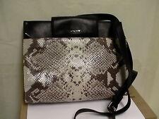 DKNY donna karan cross body bag python new