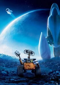 WALL-E-Movie-PHOTO-Print-POSTER-Textless-Film-Art-Andrew-Stanton-Finding-Nemo-07