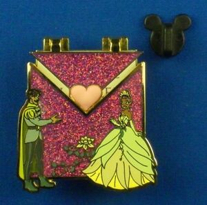 Princess-and-the-Frog-Tiana-amp-Naveen-Love-Letters-LE-OC-Disney-Pin-113333