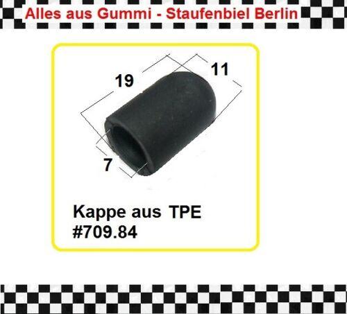 4x Endkappe 7mm innen Vergaser Kappe Gewindeschutzkappe Schutzkappe 709.84