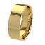 New 9ct 375 Yellow Gold Flat Court Ladies Wedding Ring Band Solid /& UK Hallmark