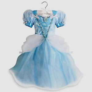 Disney-Princess-Cinderella-Deluxe-Light-Up-Dress-Halloween-Costume-Gown-Sz-4-5-6
