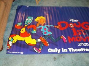 "DOUG'S 1ST MOVIE(1999)ORIGINAL VINYL BANNER 45""BY106"" GORGEOUS!"