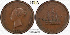 1854-1-2C-New-Brunswick-PCGS-XF40-NB-1B-BR-912-TrueView-RicksCafeAmerican-com