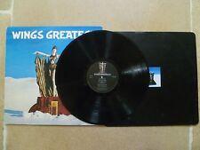 Paul McCartney Wings GREATEST Vinyl LP Record Beatles PCTC 256