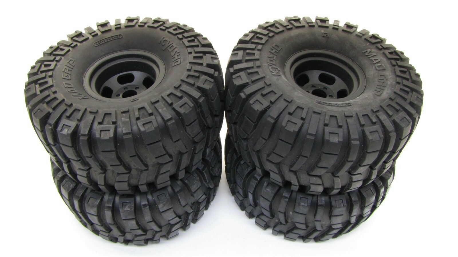 Mad CRUSHER VE - WHEELS & TIRES kyosho 17mm (set 4 tyres NEW VE - KYO34253B