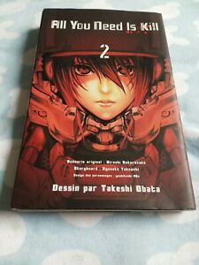 All-You-Need-Is-Kill-Vol-2-Takeshi-Obata-Manga-Young-Jump-Comic-Book-Japan