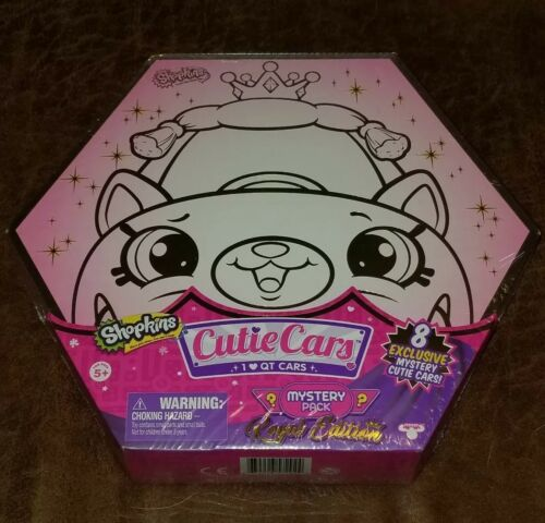 Shopkins Cutie Cars Mystery Pack EXCLUSIVE 8 Pack Royal Edition New Sealed RARE