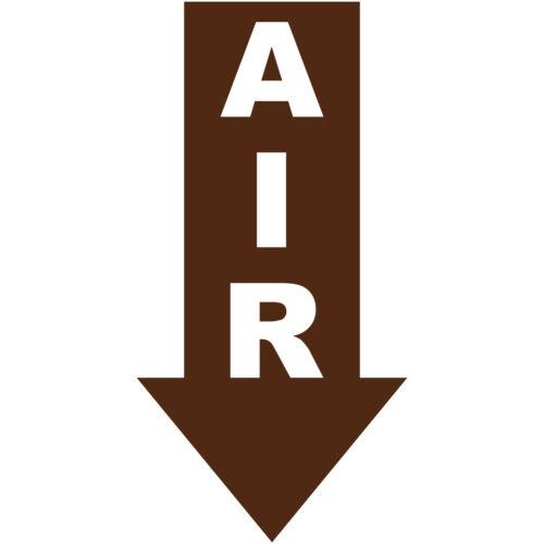 "Air Arrow Down 5/"" Vinyl Decal Sticker Car Truck Window Bumper Euro JDM"