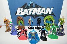 Batman Superhero Figure Toy Set 0f 12 w/ Catwoman, Joker, Robin, Nightwing Etc