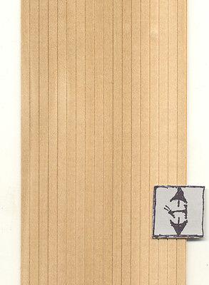 "Wainscot Sheet 3/16"" wide dollhouse wall miniature 1pc 1/12 scale wainscotting"