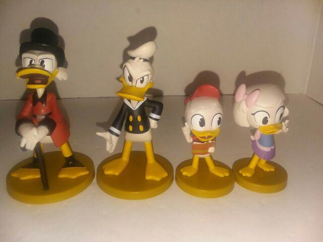 Bullyland Disney DuckTales Set Trick Track Donald Duck Torte Kuchen Deko Figur