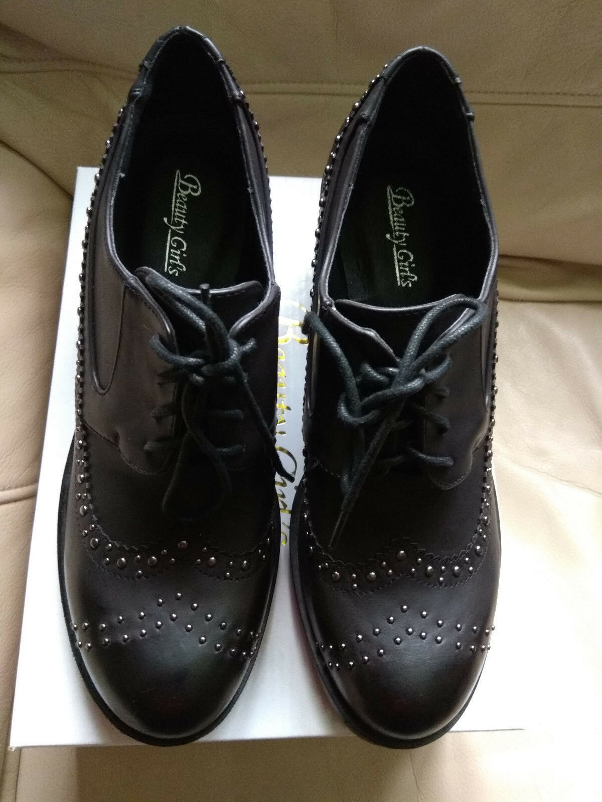 Beauty girls ladies heel shoes EU40
