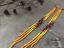 7-034-Extra-Long-Yellow-Beaded-Earrings-Ombre-Shoulder-Dusters-Long-Seed-Bead-Earrin thumbnail 2