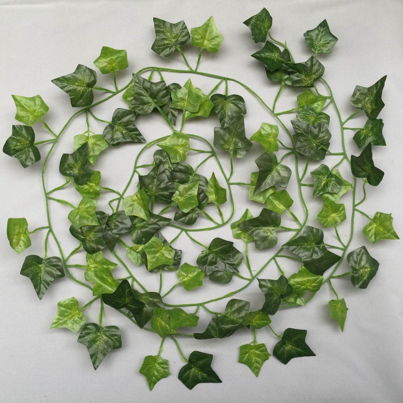 Migliore Artificiale inglese 7ft 210cm Ivy Garland finali vite vite vite piante giardino matrimonio d64099