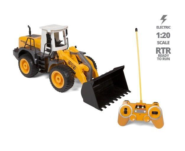 Con ruote davanti-end Heavy Loader 1 20 RTR ELECTRIC Rc  Costruzione Camion Veicolo  migliore offerta