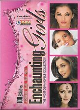ENCHAUNTING GIRLS - THE MOST DEMANDABLE COLLECTION OF BOLLYWOOD 100 SONGS DVD