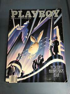 Playboy Magazine January 1988 Holiday Anniversary Issue Kim Basinger Kimberley