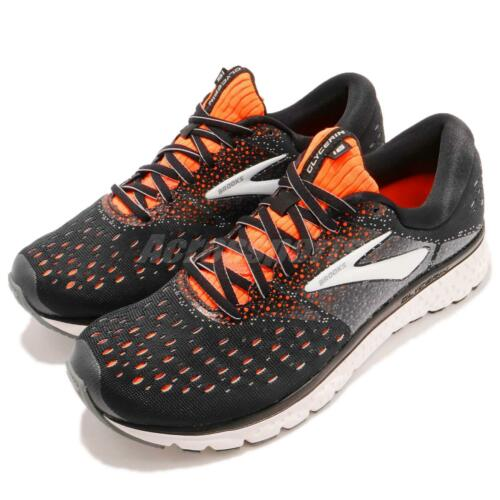 Brooks Glycerin 16 Wide Black Orange Grey White Men Running Shoes 110289 2E